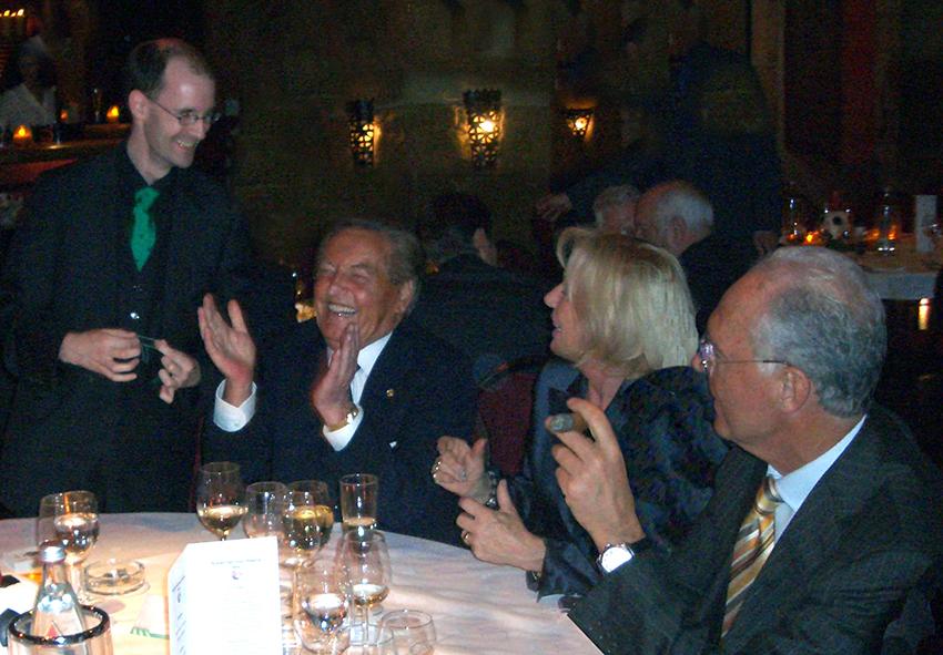 Zauber mit Franz Beckenbauer