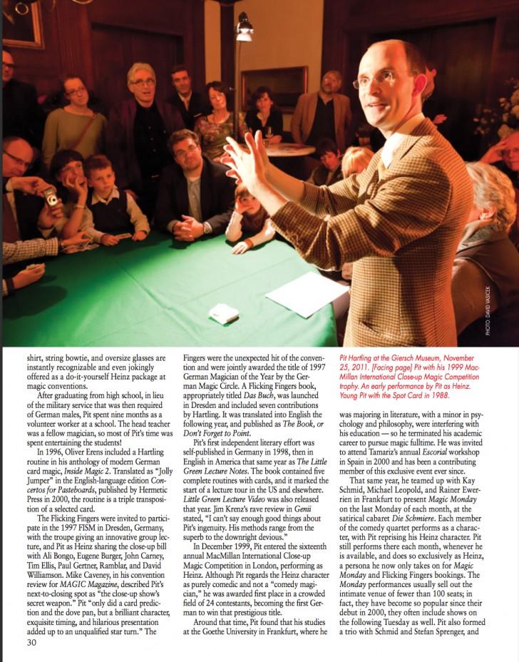Seite MAGIC Magazine
