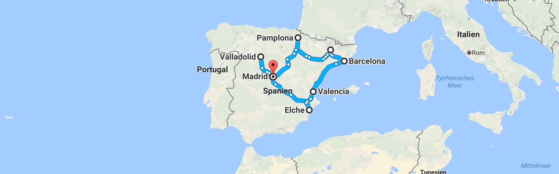 Spanien-Tour