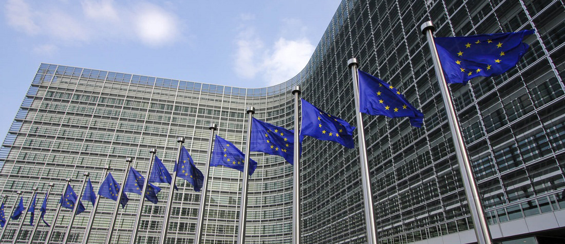 Auftritt bei der EU Kommission